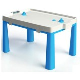 Set masuta si scaun taburet MyKids 045801 albastru