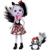 Papusa Enchantimals by Mattel Sage Skunk cu figurina {WWWWWproduct_manufacturerWWWWW}ZZZZZ]