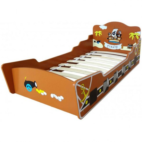 Patut Style Pirate Boat brown