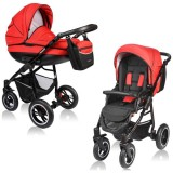 Carucior Vessanti Crooner 2 in 1 red