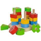 Jucarie din lemn Eichhorn Stacking Toy {WWWWWproduct_manufacturerWWWWW}ZZZZZ]