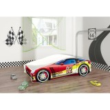 Patut tineret MyKids Race Car 05 Red 160x80