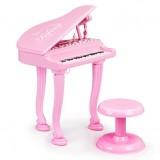 Pian cu microfon Ecotoys HC490482 roz