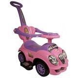 Masinuta de impins Arti 558W Oldmobile Deluxe roz