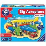 Puzzle de podea Orchard Toys Avion 30 piese