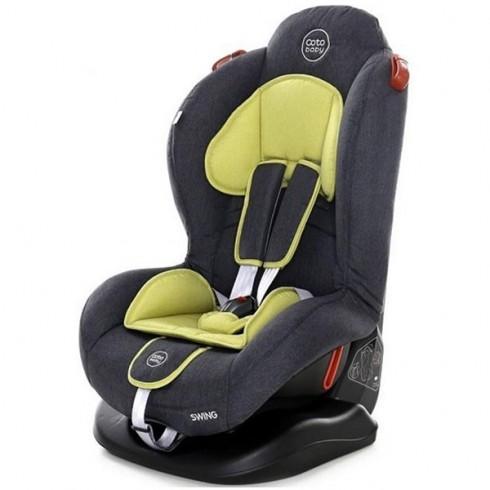 Scaun auto Coto Baby Swing melange olive  new