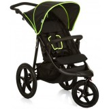 Carucior Hauck Runner black neon yellow