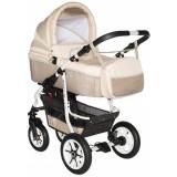 Carucior Pj Baby Pj Stroller Comfort 3 in 1 cappucino