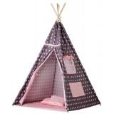 Cort de indieni Ecotoys TIPI-04 Pink Star