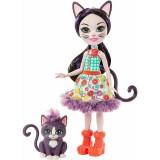 Papusa Enchantimals by Mattel Ciesta Cat cu figurina Climber {WWWWWproduct_manufacturerWWWWW}ZZZZZ]
