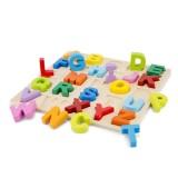 Puzzle New Classic Toys Alfabet Litere Mari