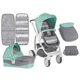 Carucior Bertoni - Lorelli Arizona green & grey