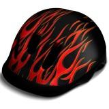 Casca de protectie WeeRide Flames negru