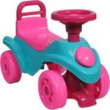 Masinuta Ucar Toys UC165 cu claxon albastru roz