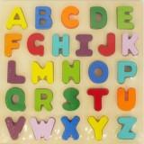 Puzzle din lemn Baby Mix Alfabetul