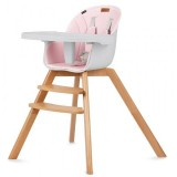 Scaun de masa Kidwell Nobis roz
