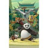 Tapet Walltastic Kung Fu Panda