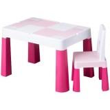 Set masuta cu scaun Tega Baby Multifun roz
