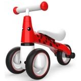 Tricicleta fara pedale Ecotoys Buburuza LB1603 rosu