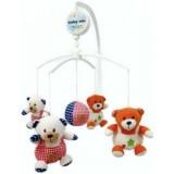 Carusel muzical Baby Mix Bears Family