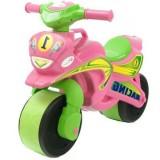 Motocicleta de impins MyKids Racing 013913 roz verde