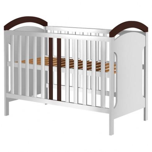 Patut copii din lemn Hubners Hansell 120x60 cm alb-venghe {WWWWWproduct_manufacturerWWWWW}ZZZZZ]