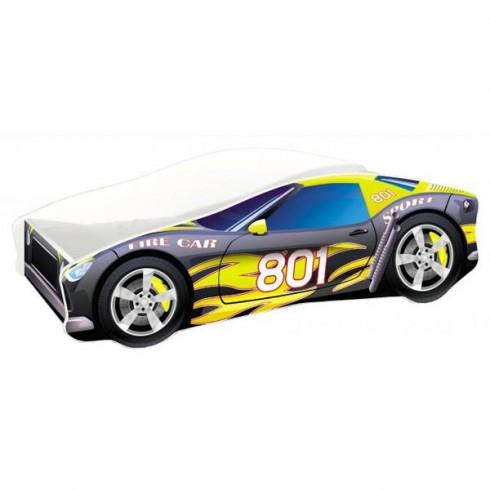 Patut MyKids Race Car 06 Black 160x80