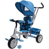 Tricicleta cu copertina si sezut reversibil Sun Baby Confort Plus albastru