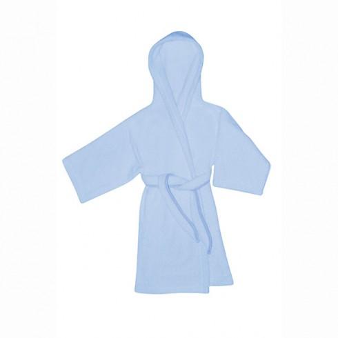 Halat de baie Bertoni - Lorelli cu gluga 80 cm blue
