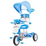 Tricicleta cu copertina Chipolino Bear blue