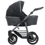 Carucior Venicci Carbo 2 in 1 black lux