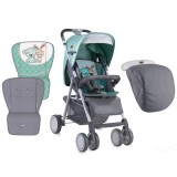 Carucior Bertoni - Lorelli Aero grey & green friends