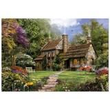 Puzzle Educa Flint Cottage 3000 piese