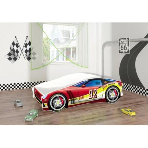 Patut tineret MyKids Race Car 05 Red 160x80