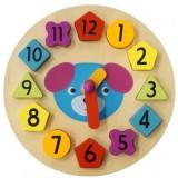 Puzzle Baby Mix Ceasul din lemn