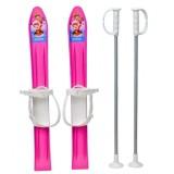 Schiuri copii Marmat 60 cm roz