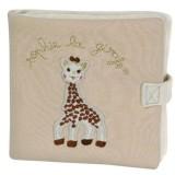 Carte activitati Vulli girafa Sophie So pure din bumbac bio