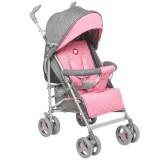 Carucior Lionelo Irma grey pink