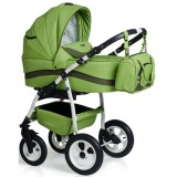 Carucior MyKids Germany 3 in 1 verde