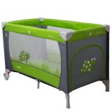 Patut pliabil Coto Baby Samba gri verde