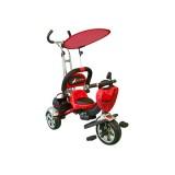 Tricicleta pentru copii MyKids Luxury KR01 rosu