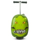 Trotineta cu rucsac Zinc Flyte scooter & case 2 in 1 Darwin the Dinosaur