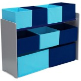 Organizator Delta Children Deluxe grey blue