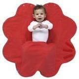 Patura floare Wallaboo Soft Poppy red
