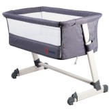 Patut Co-Sleeper Lionelo Theo 2 in 1 dark grey