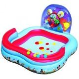 Piscina de joaca Bestway Mickey Mouse Clubhouse cu bile
