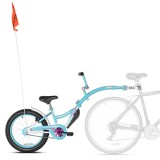 Bicicleta WeeRide Co-Pilot XT albastru