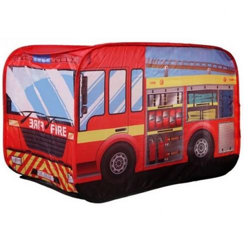 Cort de joaca Ecotoys 8153 masina de pompieri