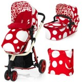 Carucior Cosatto Giggle 2 in 1 red bubbles