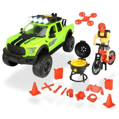 Masina Dickie Toys Playlife Bike Trail Set cu figurina si accesorii {WWWWWproduct_manufacturerWWWWW}ZZZZZ]
